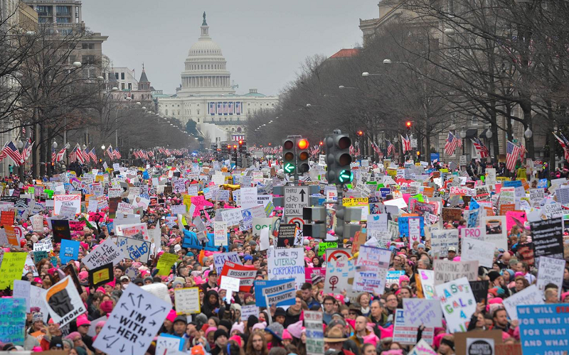 Largest Protest in U.S. History Was the Women's March